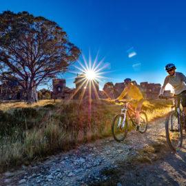 Collectors Cirque mountain bike trail at Dinner Plain